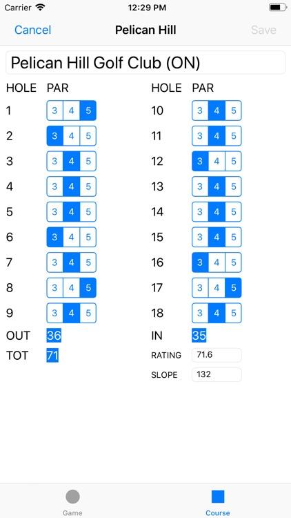 Joe's Scorecard screenshot-8