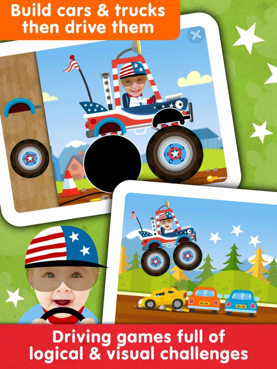 Toddler Games: Race Car Driver screenshot-1