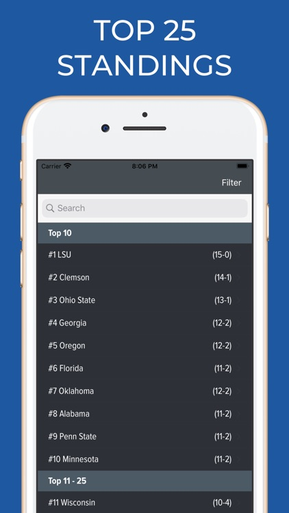 Oklahoma Football Schedules screenshot-5