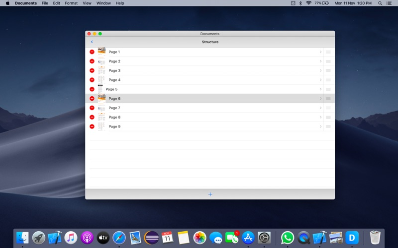 Documents for Mac