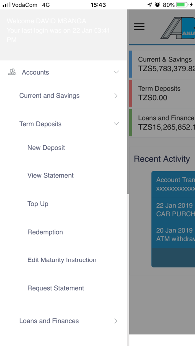 点击获取AZANIA INTERNET BANKING APP