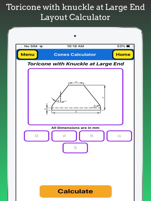 Cones Calculator screenshot 19