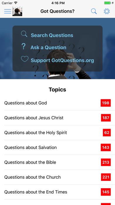 Got Questions? screenshot one