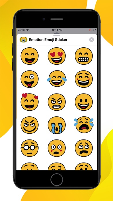 Emotion Emoji Stickers screenshot 1