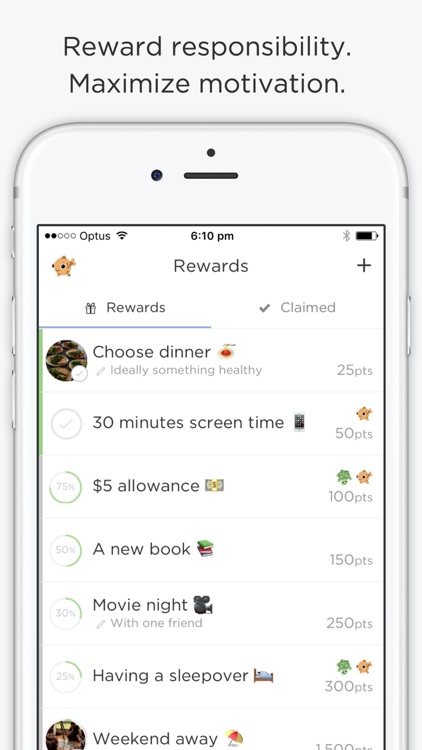 OurHome - chores and rewards