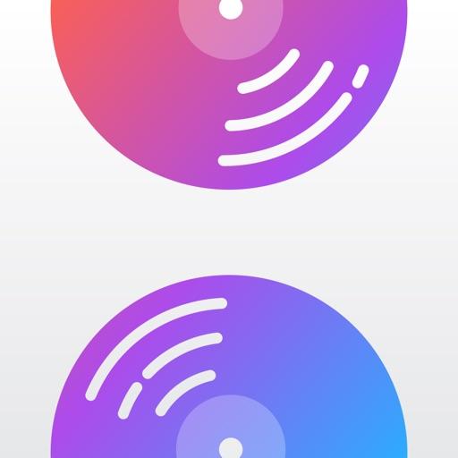 Albums - album focused player icon