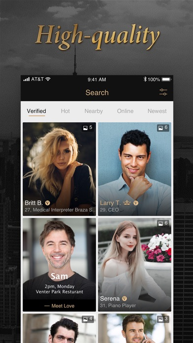 Luxy Pro - Selective Dating