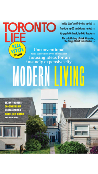 Toronto Life Magazine screenshot one