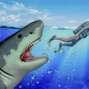 Raft Survival Underwater Shark