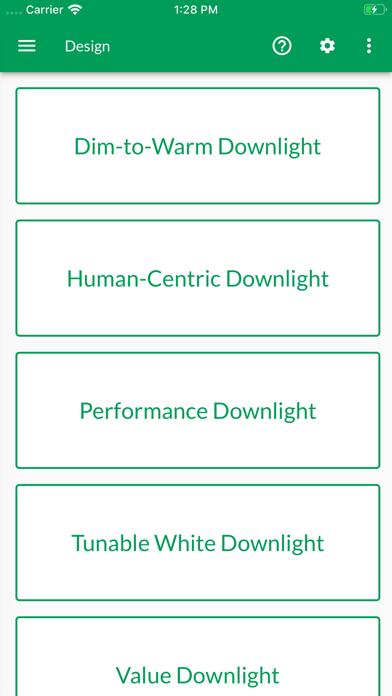 Lighting System Selector screenshot #3