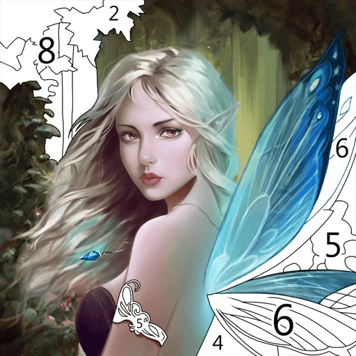 Art Coloring - Color by Number free software for iPhone and iPad