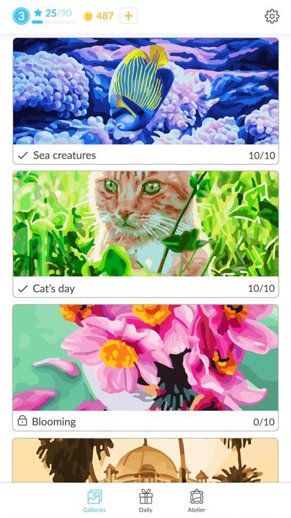 April Coloring