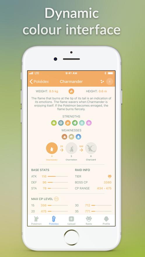 Pocketdex for Pokémon GO】应用信息- iOS App基本信息|应用截图