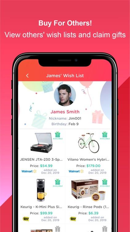 Wishworks: Build Wish Lists screenshot-3