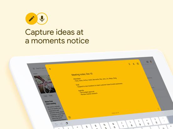 Google Keep - Notes and lists-ipad-0
