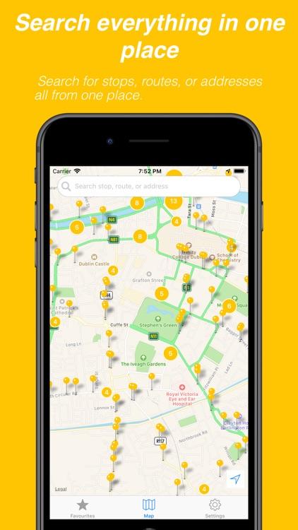 Busasaurus - Dublin bus app screenshot-3