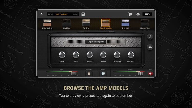 BIAS AMP 2 - for iPhone screenshot-1