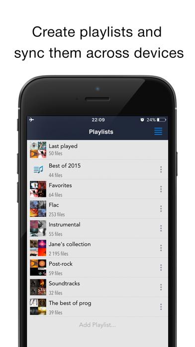 CloudBeats: music player Screenshots