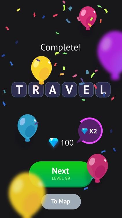 Word Travel: Pics 4 Word screenshot-3
