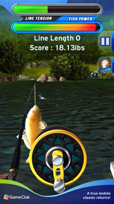 Flick Fishing: Catch Big Fish screenshot 1
