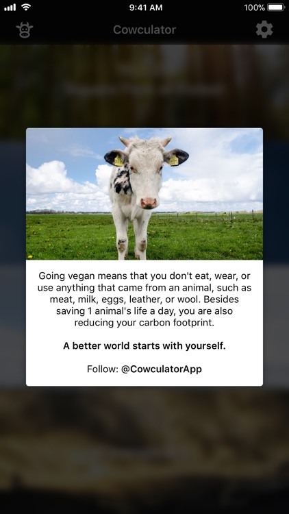 Cowculator - Friends, Not Food screenshot-1