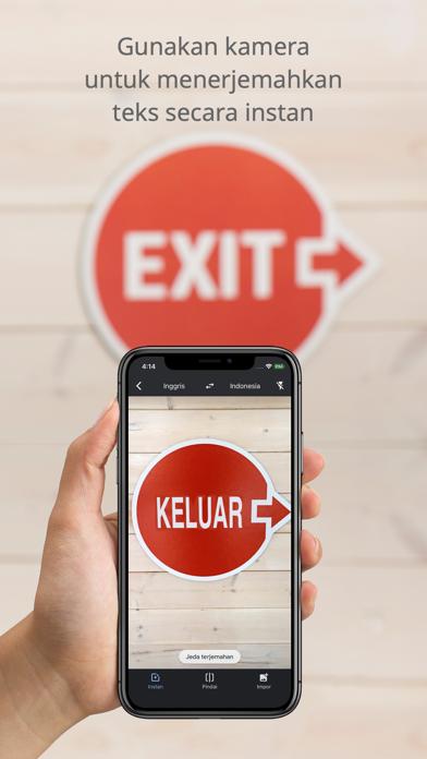 Screenshot for Google Terjemahan in Indonesia App Store