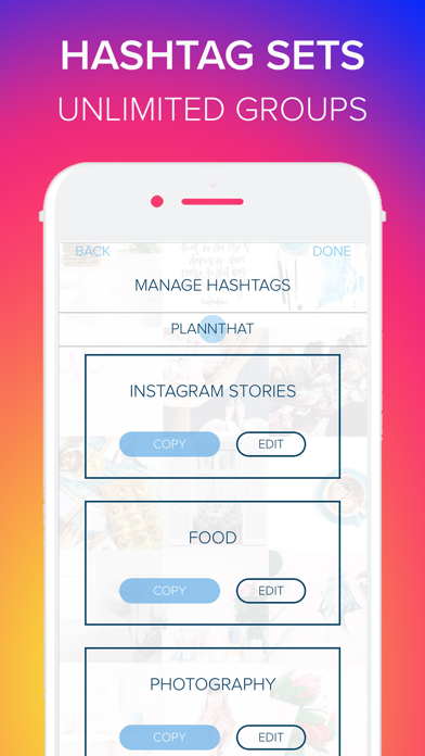 Plann + Preview for Instagram Screenshot