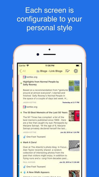 NewsBlur screenshot-3