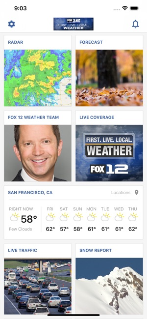 Portland Weather App -Fox 12 on the App Store