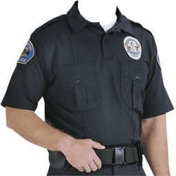 Police Suit Photo Montage 2