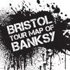 Bristol Tour Map of Banksy