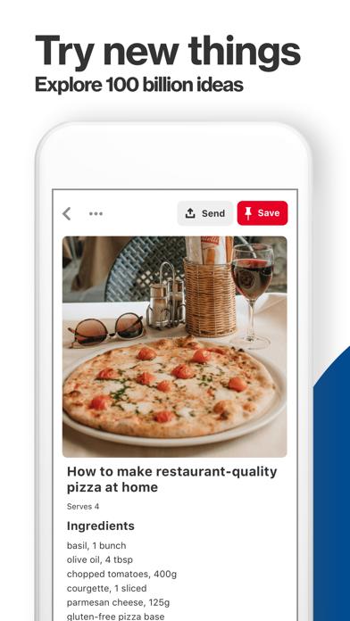 Screenshot for Pinterest in Australia App Store