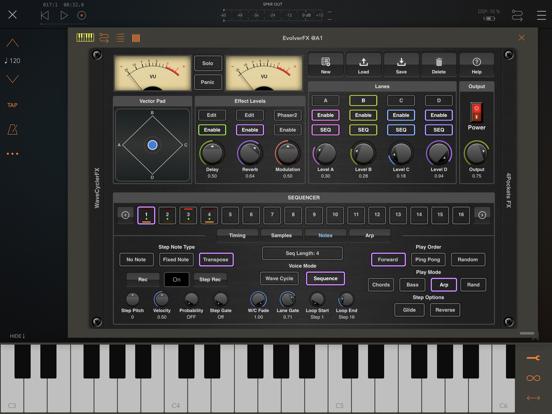 EvolverFX AUv3 Audio Plugin screenshot 15