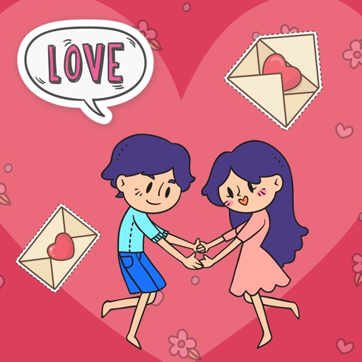 Cute Valentine's Day Stickers!