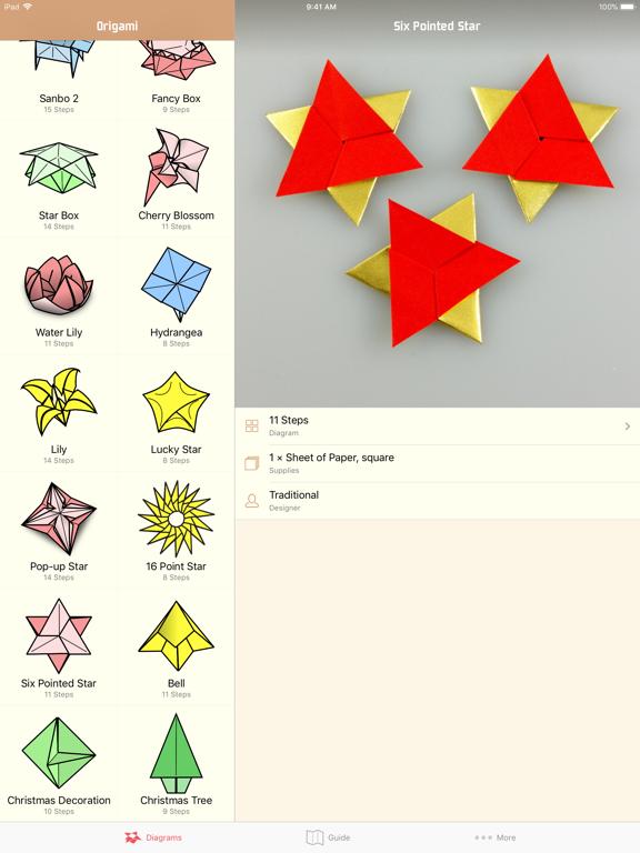 Learn How to Make Origami Screenshots