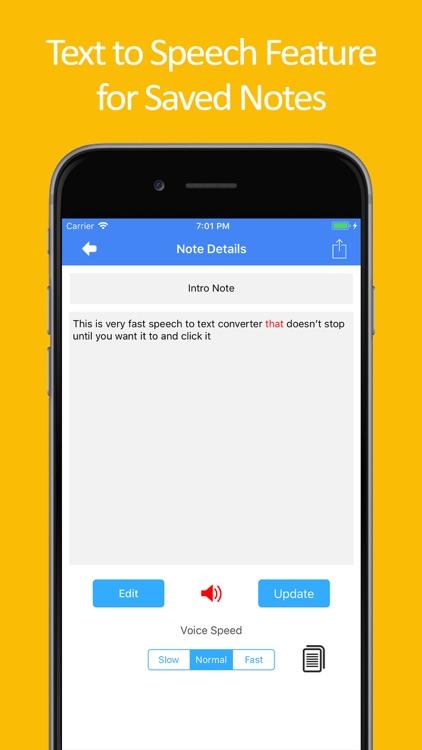 Speech to Text : Speak Notes screenshot-9