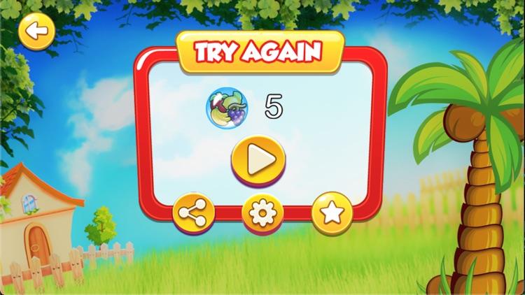 Smart Turtle Fruit Runing Game screenshot-9