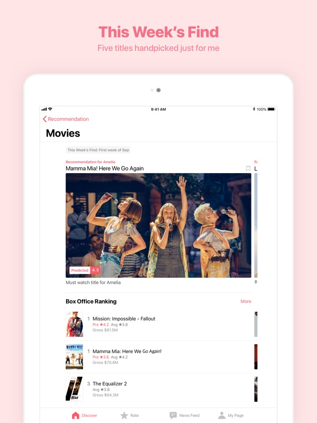 WATCHA - Find your next movie on the App Store