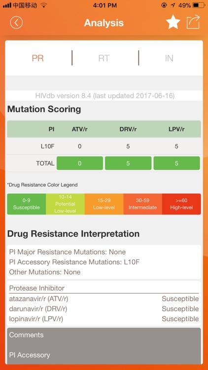 HIV Drug Resistance Database screenshot-4