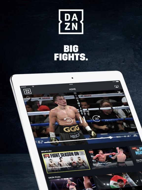 iPad Image of DAZN: Live Boxing, MMA & MLB