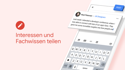 Screenshot for Google+ für die G Suite in Switzerland App Store