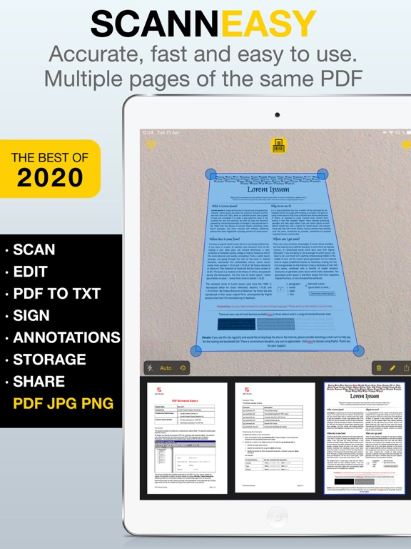 Scan Easy - PDF Scanner App screenshot 4