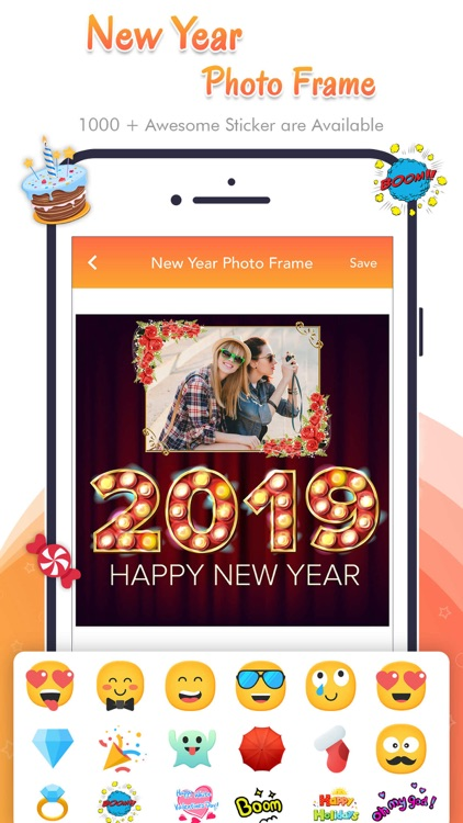 Happy New Year - Photo Frame screenshot-6