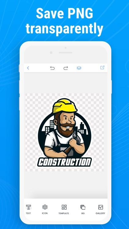Logo Creator - Design Editor screenshot-4