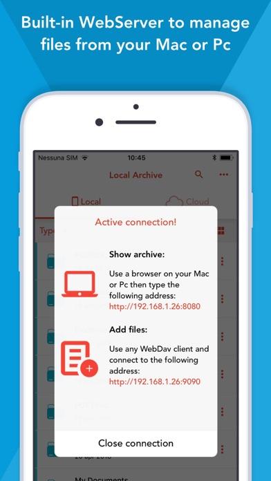 Screenshot for Amerigo File Manager in Portugal App Store