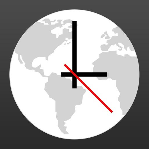 World Clock — Time Zone Widget