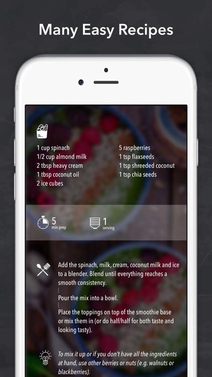 Keto Diet Recipes + Carb App screenshot-4