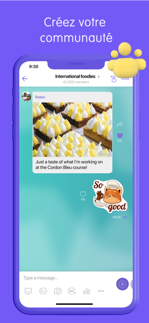 ‎Viber Messenger: Chat & Appel Capture d'écran
