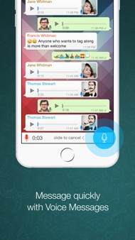 WhatsApp Messenger iphone images