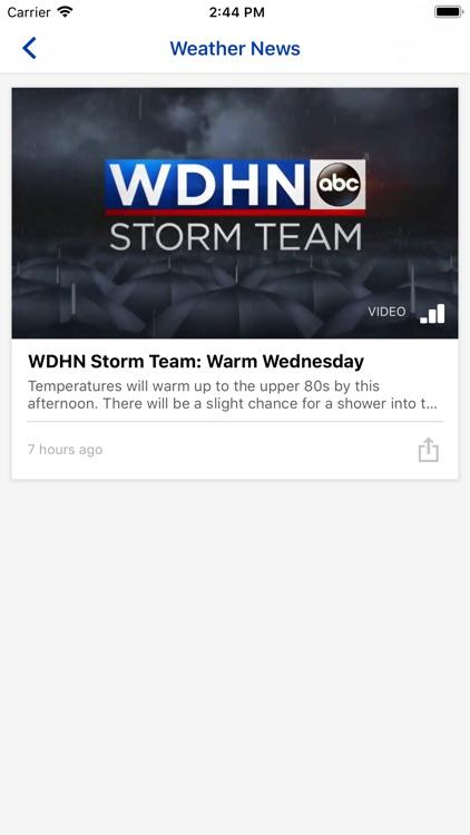 WDHN Weather DothanFirst.com